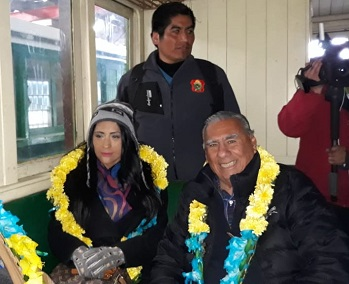 Oruro, Bolivia: Senador Soria participa en apertura de ruta turística y de integración