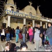 Desde distintas ciudades del país, llegaron turistas para participar de la fiesta de La Tirana