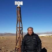 A días que se cumplan los 60 años de la Caravana de Oruro a Iquique, Senador Jorge Soria inspeccionó estado del Hito 60