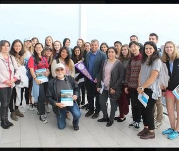 Estudiantes de Universidad de Washington, USA, conocen funcionamiento de CESFAM Videla
