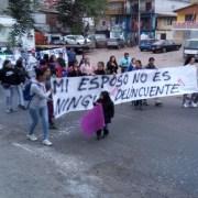 Cargadores de Zofri protestan en familia por sus demandas y sin bloquear acceso al Mall