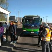 Con fiscalizaciones incógnitas con funcionarios que viajan como pasajeros, se realizan controles de tránsito