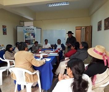 Temática del género desde la perspectiva andina, fue abordada en taller de trabajo de Corporación ICCYTA