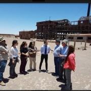 Misión de Unesco visitó salitreras Humberstone y Santa Laura para evaluar avances en conservación del Sitio de Patrimonio Mundial