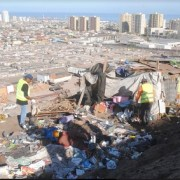 Desalojan a ruqueros en sector de acceso de Iquique,  en operativo conjunto entre Gobernación, Municipalidad y Carabineros