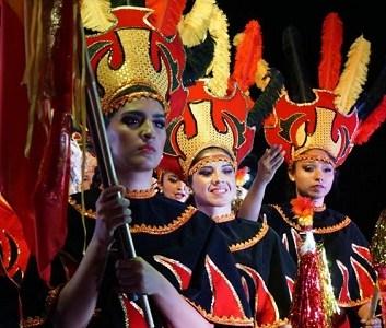 """Espectacular montaje de gala """"San Lorenzo de Tarapacá"""", presentó compañía de danzas Kirqui Wayra"""