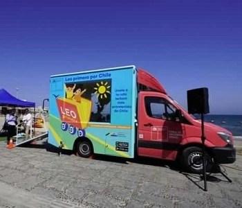 """Intensa jornada del programa """"Leo Primero por Chile"""" desarrollará la biblioteca móvil que recorre el país"""