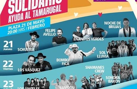 Noche de Brujas, Felipe Avello, Schuster y Los Enanitos Verdes, en noche inaugural del Festival de Iquique