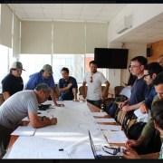 Equipos técnicos de la Municipalidad de Iquique, se desplieguen por distintos sectores para evaluar daños tras la lluvia
