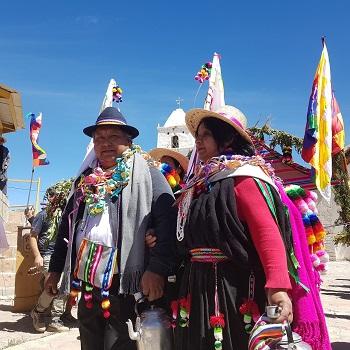 Realizan Festival Andino a más de 3.500 metros de altura, reuniendo a gran cantidad de asistentes