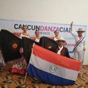Grupo paraguayo representando a Consulado en Iquique, se lució en encuentro folclórico internacional en México