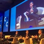 En seminario de la Cámara Nacional de Comercio, alcalde Soria criticó pasividad para legislar y prohibir máquinas tragamonedas