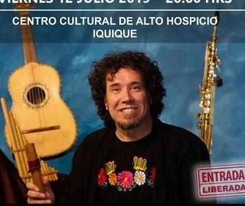 Músico de Illapu trae disco «Canturía de mi Sangre»,  que reivindica figura y obra de Gabriela Mistral