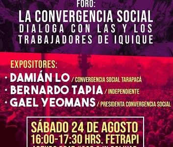 Diputada  del Frente Amplio participará en seminario, dictará charlas y asistirá a cuenta de gestión de CORE Zambra