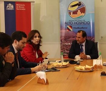 Municipalidad de  Alto Hospicio y Bienes Nacionales constituyen mesa para regularizar terrenos en la autoconstrucción