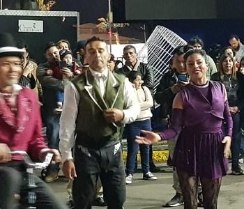 """Circo en la Cuerda se transformó en un colorido atractivo este 18 de septiembre, en """"Fiesta de la Chilenidad"""""""