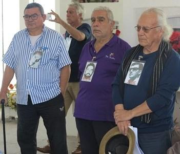 En Mausoleo para Que Nunca Más, organizaciones de DDHH rinden homenaje a ejecutados por Consejo de Guerra declarado nulo.