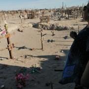 """Señalizan en Huara fosa de los mártires de """"Maroussia"""", masacre desconocida en la lucha de los obreros salitreros"""