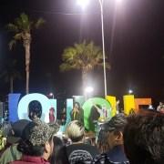 Manifestación dominical concluyó con 2 detenidos y un herido con proyectil, que nuevamente habría salido de la VI División de Ejército