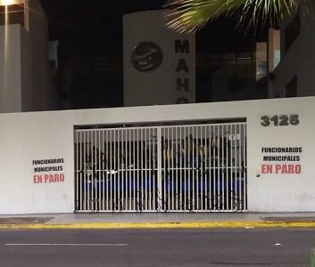 Funcionarios a contrata y a honorarios se tomaron dependencias de la Municipalidad de Alto Hospicio