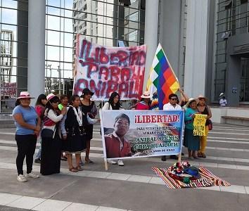 Corte de Apelaciones revocó libertad condicional a joven aymara y decreto prisión preventiva: Rechazo total a la medida