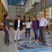 CORE Iván Perez verificó en terreno estado de avance de las obras de restauración de la Iglesia Pampina