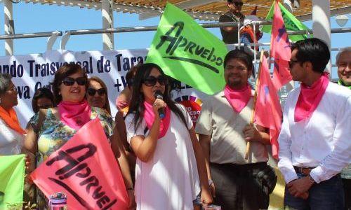 """Lanzan nuevo comando por el """"Yo apruebo"""" en tradicional sector de Playa Bellavista, sumando ya 4 iniciativas que trabajarán por la opción Sí"""