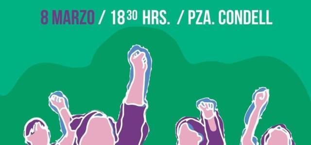 En este #8M 2020 mujeres salen a las calles a luchar por sus derechos. En Plaza Condell, a ls 6 de la tarde se reúnen mujeres de Iquique y Alto Hospicio