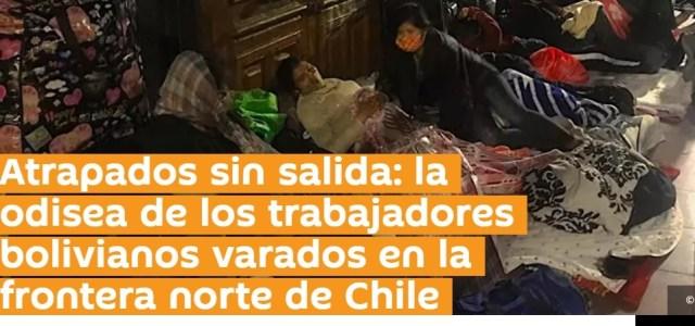 Medio con sede en Moscú y en capitales del mundo, publica nota con realidad de bolivianos varados en Chile