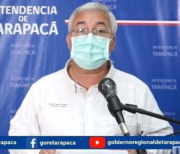 Intendente Quezada acusa que mienten en RRSS sobre eventual traslado de ciudadanos bolivianos a Iquique
