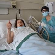 La octogenaria que conoció la por cara del Coronavirus por 22 días y sobrevivió para contarlo