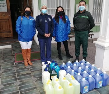 Solidaridad ante la pandemia: La línea de trabajo extraoficial de los integrantes de la Defensoría Regional de Tarapacá