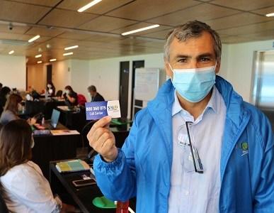 Más de 17 mil atenciones entregó la Central de Llamadas de la Salud Municipal de Iquique durante 2020