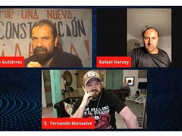 Diputado Gutiérrez  conversa con Capitán Harvey, dado de baja del Ejército, al denunciar actos de corrupción