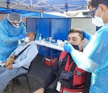 Realizaron testeo masivo de PCR  en el Puerto, para identificar eventuales casos de Covid 19