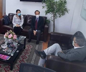 Cónsul Chino en Iquique,  Chen Ping se despide de Zona Franca al terminar su mandato de 4 años