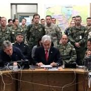 """General Paiva y su """"Plan Zeta"""" es noticia nacional. Informe de inteligencia inspiró célebre frase de Piñera de """"estamos en guerra"""""""