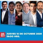 Seis de los 7 precandidatos que van a primarias legales para la gobernación, participarán en debate