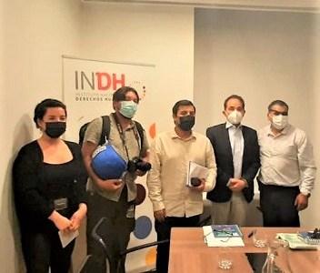 Víctimas del estallido piden a Director Nacional del INDH, acciones concretas para que Fiscalía apure procesos en Tarapacá.