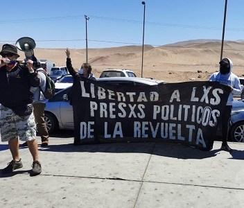 Joven preso político de la revuelta, intentó suicidarse para poner fin a la injusta situación que vive
