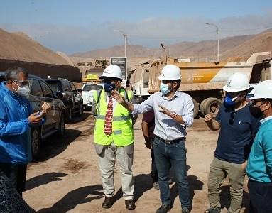Para inspeccionar y fiscalizar, Comisión de Medio Ambiente del CORE sesionó en relleno sanitario de El Boro