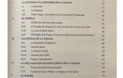 """Diácono de Iquique lanzó libro """"Bajo tu amparo"""", en honor a la Virgen del Carmen de la Tirana y su fiesta"""