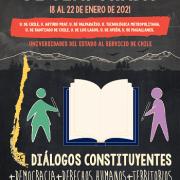 U.de Chile y UNAP convocan a Diálogos constituyentes + Democracia + Derechos Humanos +Territorios