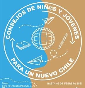 """A propósito del proceso Constituyente, convocan a niños y jóvenes a escribir los """"Consejos para un nuevo Chile"""""""