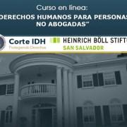 Corte Internacional de DDHH comparte ciclo de formación para personas no abogadas, disponible en formato audiovisual