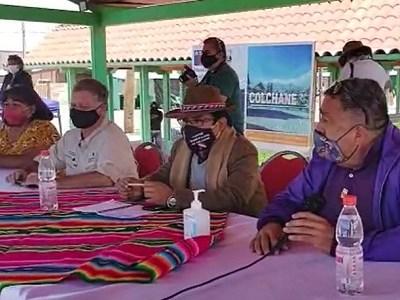 A 4 mil metros de altura, alcalde de Colchane pide renuncia del Intendente Quezada, hoy de vacaciones