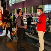 Dos buses con 106 migrantes, que cumplieron con el periodo de cuarentena partieron rumbo a Santiago