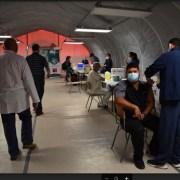 Partió proceso de vacunación para más de dos mil funcionarios del Hospital de Iquique