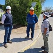 SEC Tarapacá fiscaliza en Huara trabajos instruidos a CGE para entregar un suministro continuo y seguro