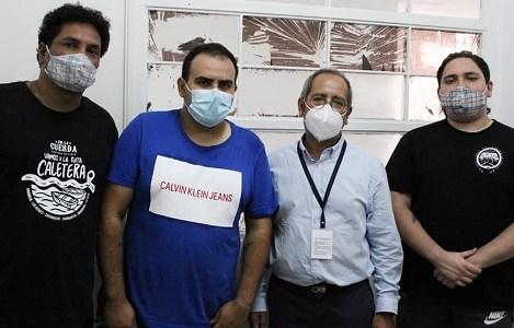 Diputado Moraga visita a presos políticos y reitera rechazo a criminalización del movimiento social